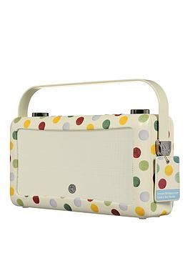 Image of View Quest Hepburn Mkii Dab Radio &Amp; Bluetooth Wireless Speaker - Emma Bridgewater Polka Dot