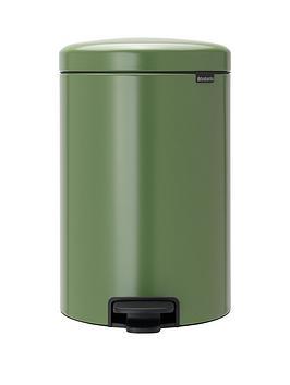 brabantia-newiconnbsp20-litre-pedal-bin-ndash-moss-green