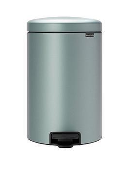 brabantia-newicon-30-litre-pedal-bin-ndash-metallic-mint