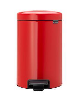 brabantia-newicon-12-litre-pedal-bin-passion-red