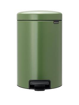 brabantia-newicon-12-litre-pedal-bin-ndash-moss-green
