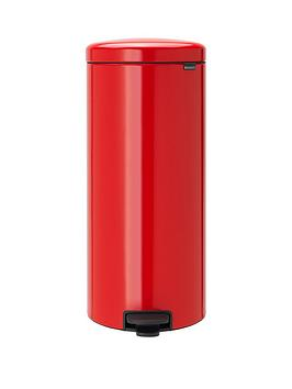 brabantia-newicon-30-litre-pedal-bin-ndash-passion-red