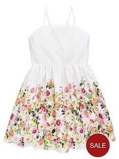 v-by-very-occasionwear-floral-border-print-dress