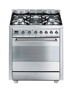 smeg-c7gpx8nbsp-symphonynbsp70cm-single-oven-dual-fuel-mini-range-cooker