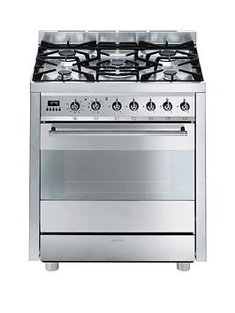 smeg-c7gpx8nbsp-symphonynbsp70cm-single-oven-dual-fuel-mini-range-cooker