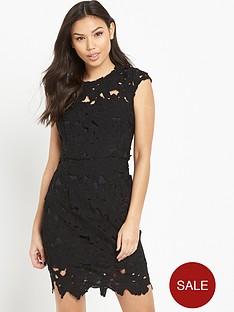 ax-paris-crochet-mini-dress-black