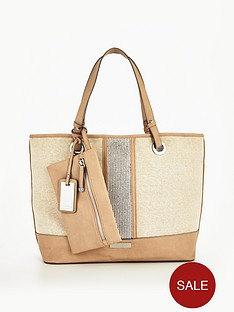 carvela-krypton-large-metallic-beach-bag