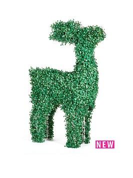 topiary-led-reindeer