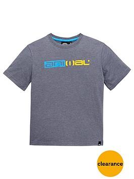 animal-ss-marl-logo-tee