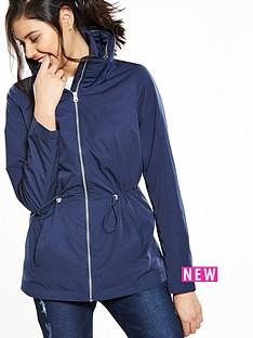v-by-very-funnel-neck-concealed-hood-jacket-navy
