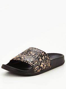 reebok-classic-slider-sandals-blackgoldnbsp