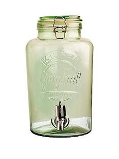kilner-5-litre-drinks-dispenser-green
