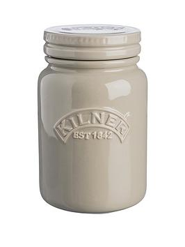 kilner-ceramic-storage-jar-pebble-grey