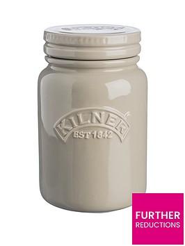 kilner-ceramic-storage-jar-pebble-grey