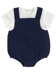 mamas-papas-baby-boys-mock-dunagree-romper-suit