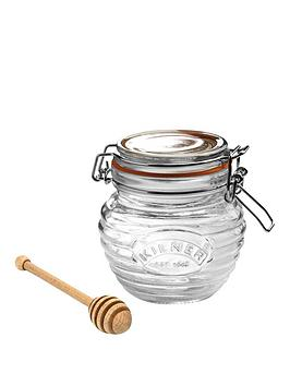 kilner-kilner-clip-top-035-litre-honey-pot-with-dipper