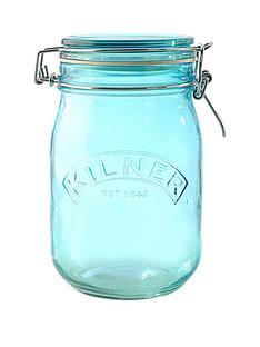 kilner-kilner-3-piece-1-litre-clip-jar-set-blue