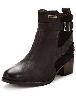 superdry-bones-strap-leather-ankle-boot-black