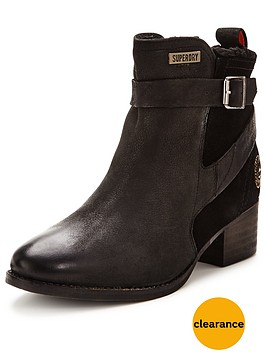superdry-bones-strap-leather-ankle-boot-black