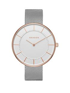 skagen-gitte-white-dial-silver-tone-stainless-steel-mesh-bracelet-ladies-watch