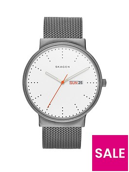 skagen-ancher-white-dial-stainless-steel-mesh-braceletnbspmens-watch