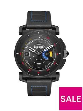 diesel-on-dzt1001-black-dial-black-silicone-strap-smart-watch