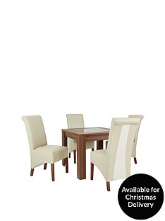 avery-square-90-x-90-cm-dining-table-4-sienna-leather-amp-suede-chairs