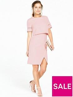 v-by-very-petite-petite-trim-detail-2-in-1-dress--nbspblush