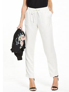 v-by-very-petite-petite-hammered-satin-woven-jogger-champagne