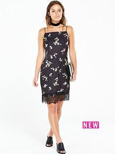 v-by-very-petite-petite-lace-hem-printed-cami-dress