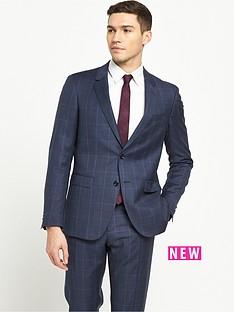 tommy-hilfiger-check-2pce-suit
