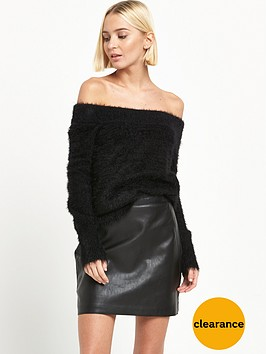 river-island-fluffy-bardot-jumper