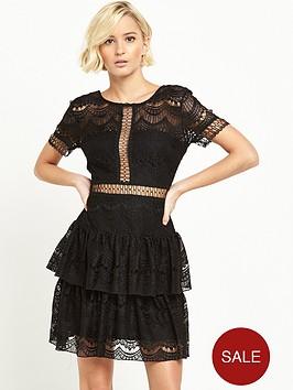 river-island-frill-lace-mini-dress-black