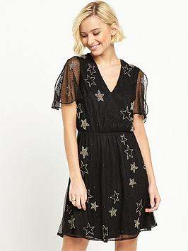 river-island-embellished-star-mini-dress-black