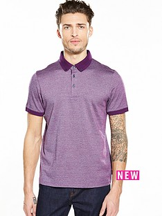 ted-baker-textured-jacqurd-polo-shirt
