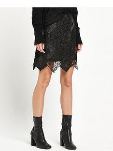 river-island-pu-lace-mini-skirt