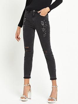river-island-lori-high-rise-floral-ripped-jeans