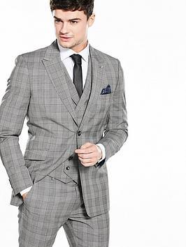 ted-baker-mensnbspsaigonj-check-suit-jacket