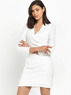 river-island-river-island-white-long-sleeved-wrap-front-shirt-dress