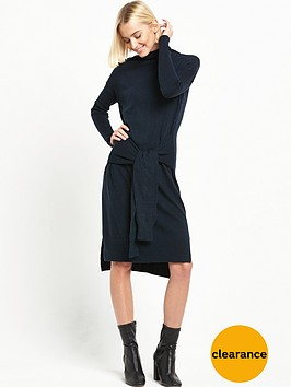 river-island-tie-front-jumper-dress
