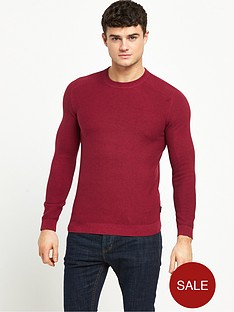 ted-baker-stitch-detail-crew-neck-jumper