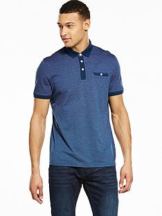 ted-baker-jacquard-polo-shirt