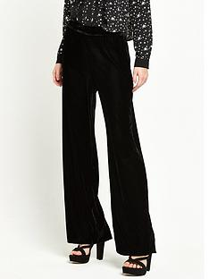 river-island-velvet-wide-leg-trouser-black