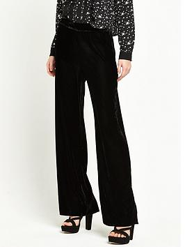 river-island-velvet-wide-leg-trouser-black