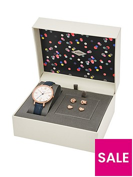 fossil-jacqueline-watch-ampnbspearring-ladies-gift-set