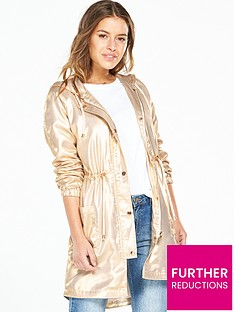 v-by-very-petite-petite-metallic-parka-coat-gold