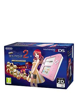nintendo-2ds-2ds-pink-console-with-new-style-boutique-2