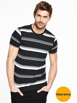 v-by-very-short-sleeve-stripe-t-shirt