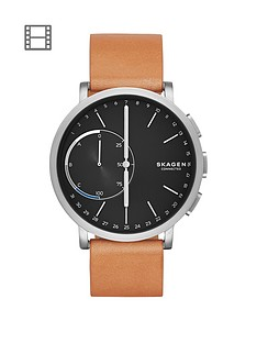 skagen-skagen-hagen-connected-black-dial-leather-strap-smart-watch