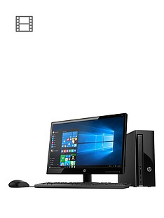 hp-411-a000na-intel-celeron-4gb-ram-1tb-hard-drive-desktop-pc-with-215-inch-monitor-and-optional-microsoft-office-365-home-black